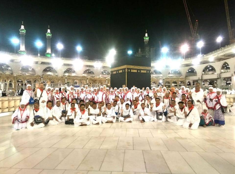 135 Jamaah Umroh Ghinasepti Selesai Melakukan Ritual Ibadah Umroh