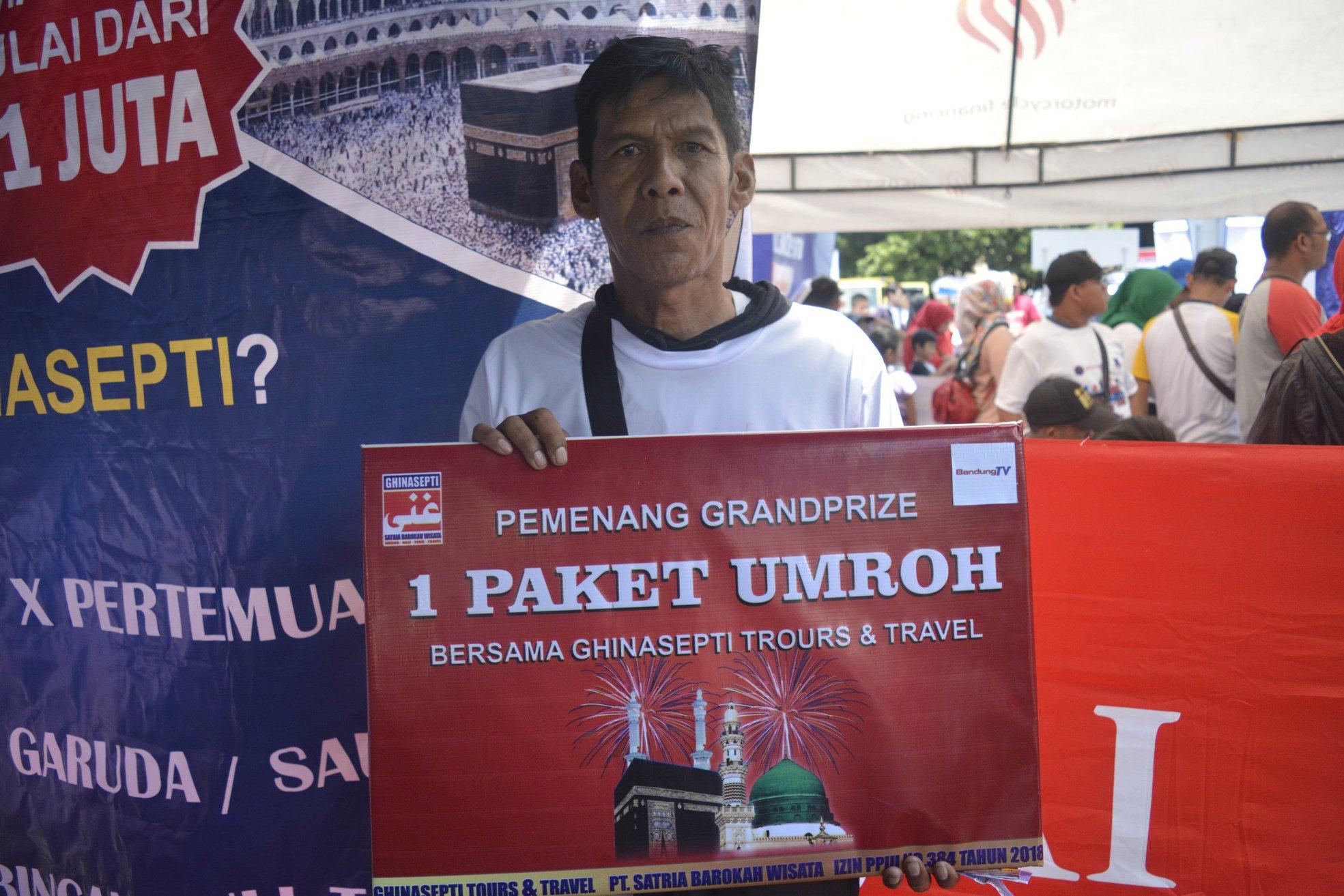 Partisipasi Ghinasepti Dalam HUT Kota Garut
