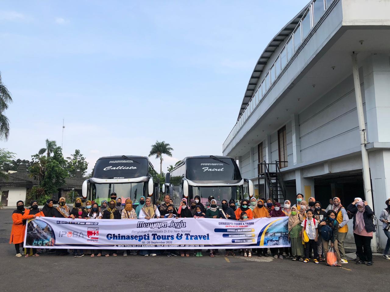 Di Gandeng IPOBA, Ghinasepti Turut Serta Dalam Membangkitkan Kembali Pariwisata Indonesia