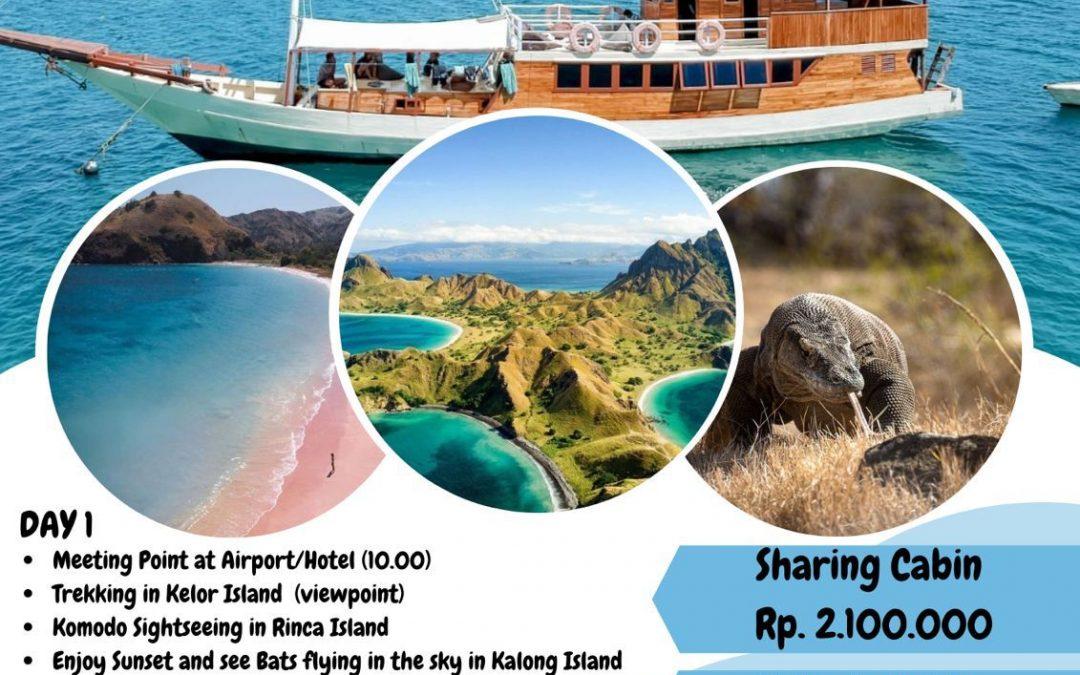 Open Trip Labuan Bajo Live aboard 2021